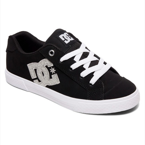 DC Women's Shoes - Chelsea SE - Black/Metallic Silver