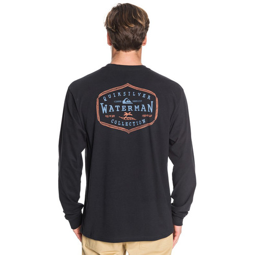 Quiksilver Shirt - Anchored Mission LS - Black