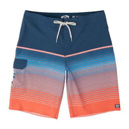 Billabong Boardshorts - All Day Stripe Pro - Neon Melon