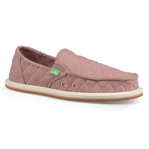 Sanuk Kid's Shoes - Lil Donna Quilted - Woodrose
