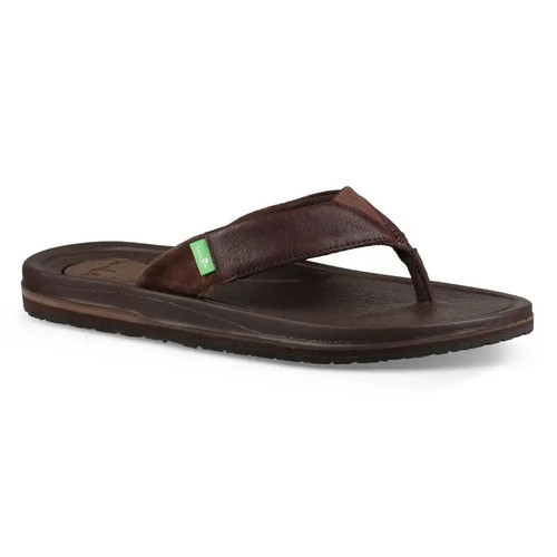 Sanuk Flip Flop - Beer Cozy 3 Primo - Brown