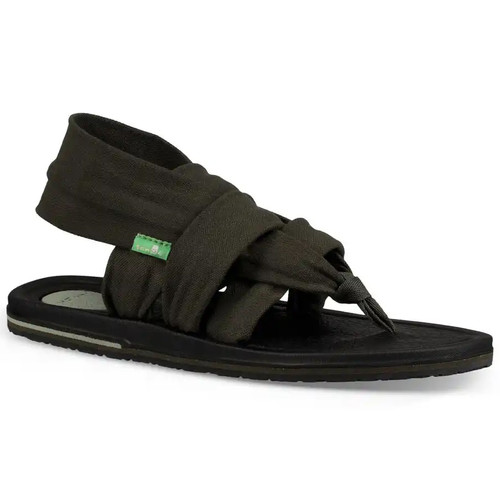 Sanuk Women's Flip Flop - Yoga Sling 3 - Forest Green