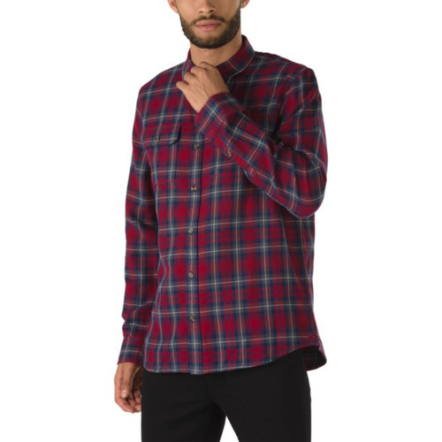 Vans Flannel - Sycamore - Biking Red