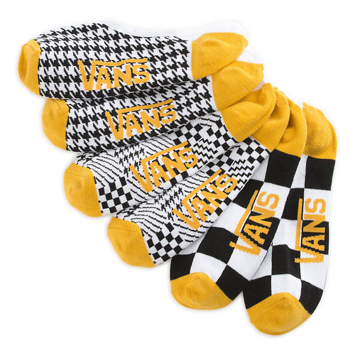 Vans Women's Socks - Houndstooth Check Canoodles Small - Multi