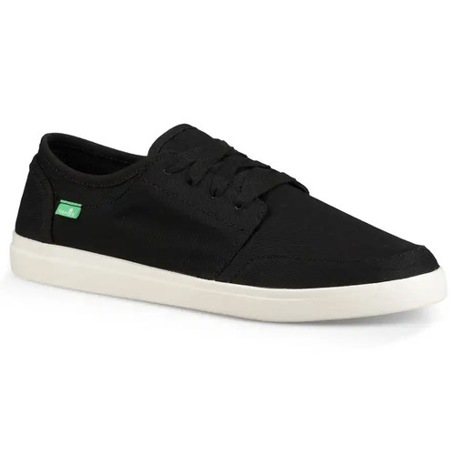 Sanuk Shoes - Vagabond Lace Sneaker - Black