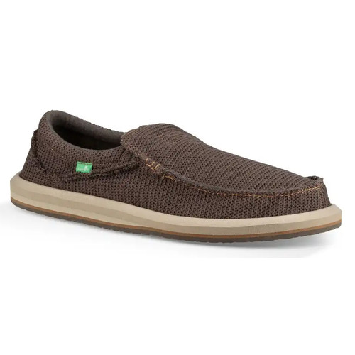 Sanuk Shoes - Chiba Weava - Warm Grey