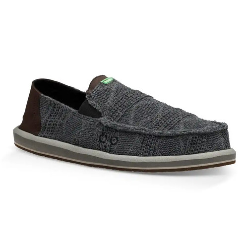 Sanuk Shoes - Pick Pocket Knit - Dark Charcoal