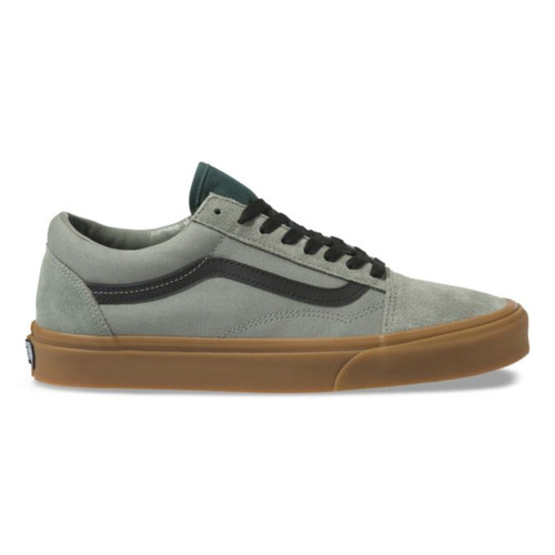 Vans Shoes - Old Skool - Gum/Shadow/Trekking Green