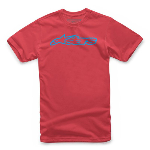 Alpinestars Tee Shirt - Blaze - Red/Blue