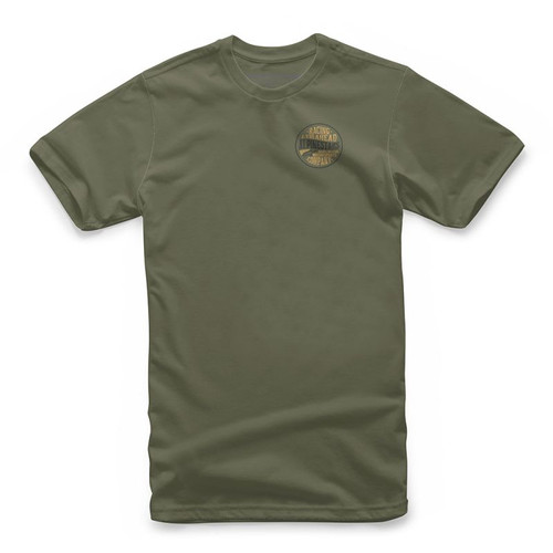 Alpinestars Tee Shirt - Company - Military Green