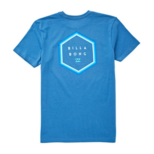 Billabong Boy's Tee Shirt - Access Border - Royal