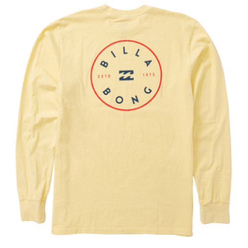 Billabong Shirt - Rotor LS - Lemon