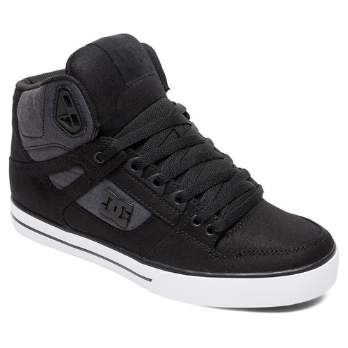 DC Shoes - Pure High-Top WC TX SE - Black Dark Used