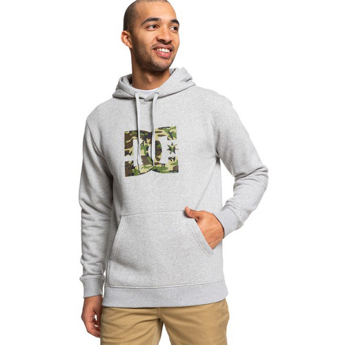 DC Hoody - Star - Grey Heather/Camo