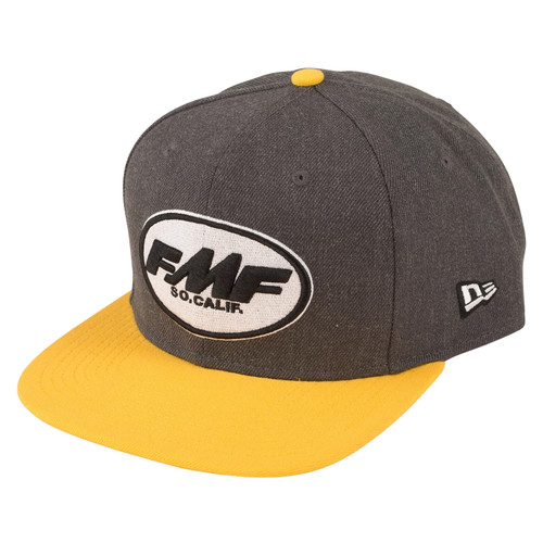 FMF Hat - Buttery - Charcoal Heather