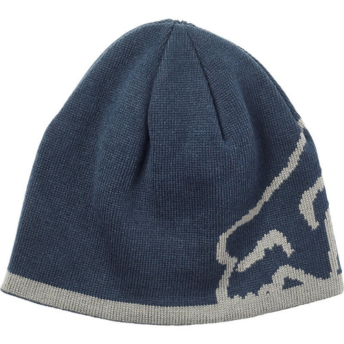 Fox Beanie - Streamliner - Navy/Grey