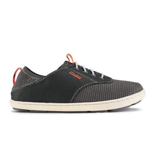 Olukai Boy's Shoes - Nohea Moku - Dark Shadow/Dark Shadow