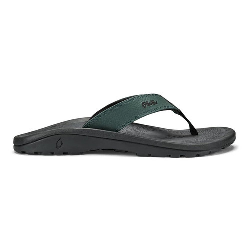 OluKai Flip Flops - 'Ohana - Deep Green/Dark Shadow