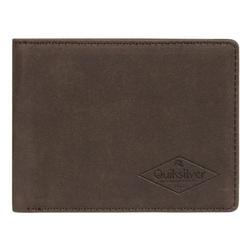 Quiksilver Wallet - Slim Vintage III - Chocolate Brown