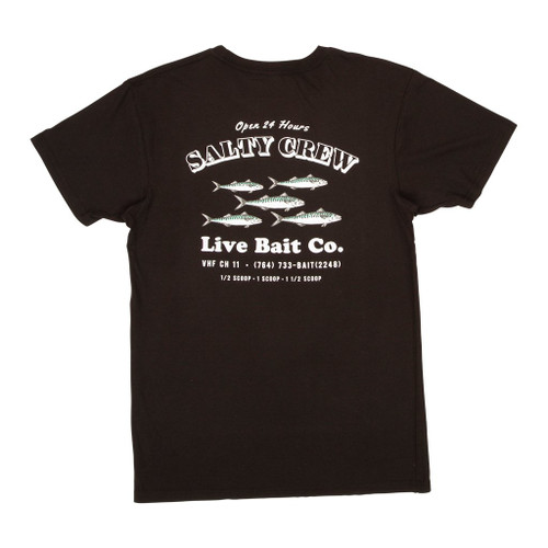 Salty Crew Tee Shirt - Rat Pack - Black