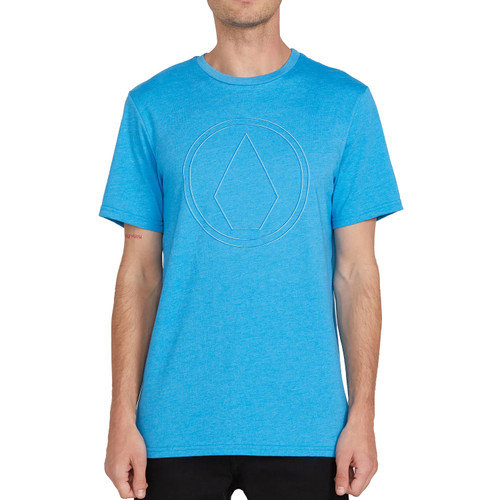 Volcom Tee Shirt - Off Pin - True Blue