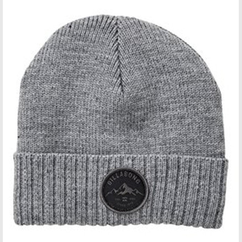 Billabong Beanie - Ridge Polar Beanie - Grey Heather