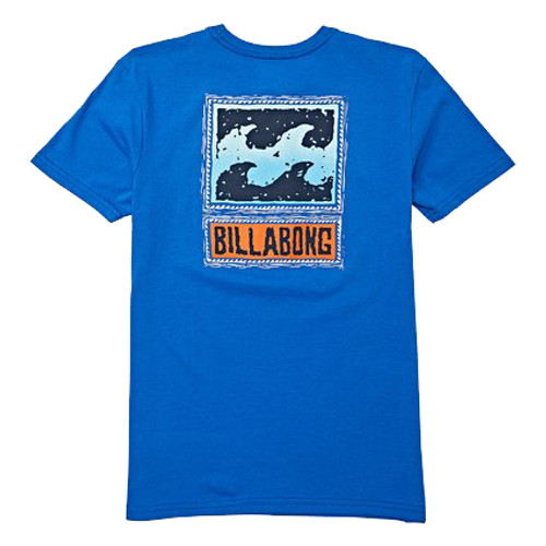 Billabong Boy's Tee Shirt - Fifty Wave - Royal