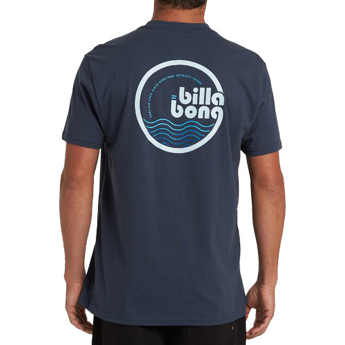 Billabong Tee Shirt - Lagoon 19 - Navy