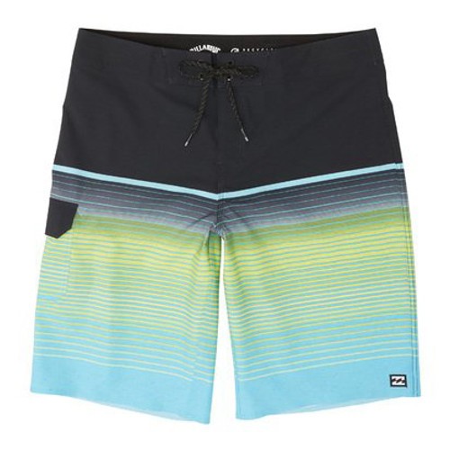 Billabong Boardshorts - All Day Stripe Pro - Aqua