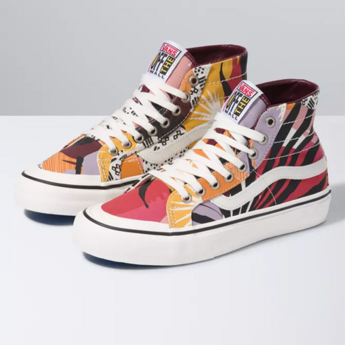Vans Women's Shoes - Sk8-Hi 138 Decon SF - Port Royale/Marshmallow