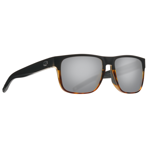 Costa Sunglasses - Spearo - Black/Shiny Tort/Grey Silver Mirror