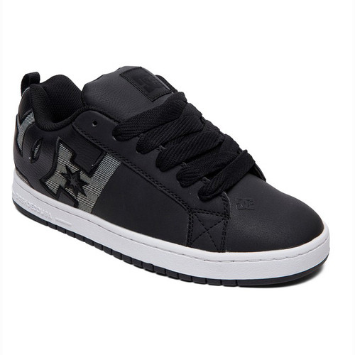 DC Shoes - Court Graffik SQ - Black/Heather Grey