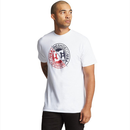 DC Tee Shirt - Bright Roller - White