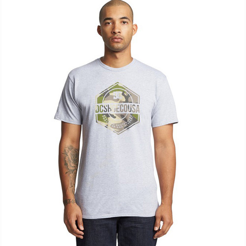 DC Tee Shirt - First Mission - Grey Heather