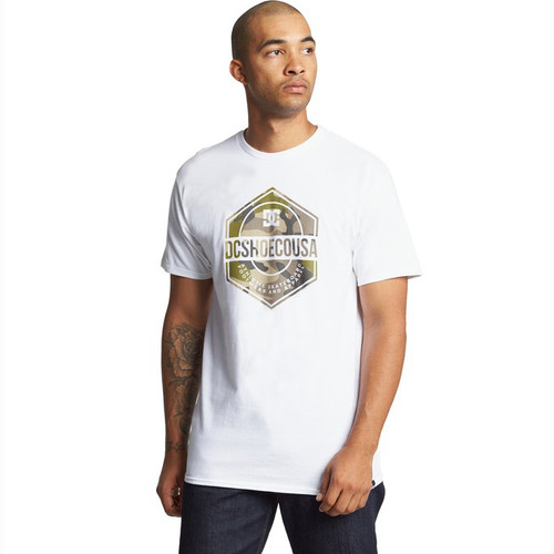 DC Tee Shirt - First Mission - Bright White