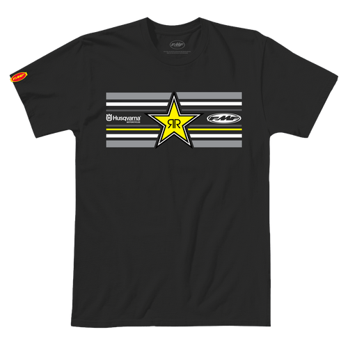 FMF Tee Shirt - Star - Black