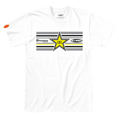 FMF Tee Shirt - Star - White