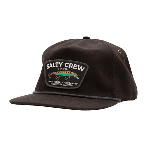 Salty Crew Hat - Hardbait - Black