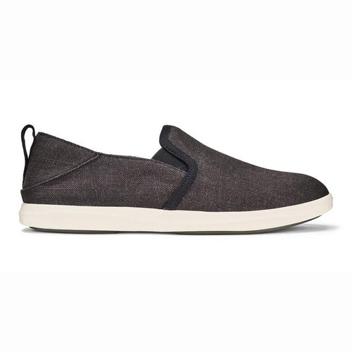 Olukai Women's Shoes - Hale'iwa Olona - Black/Off White