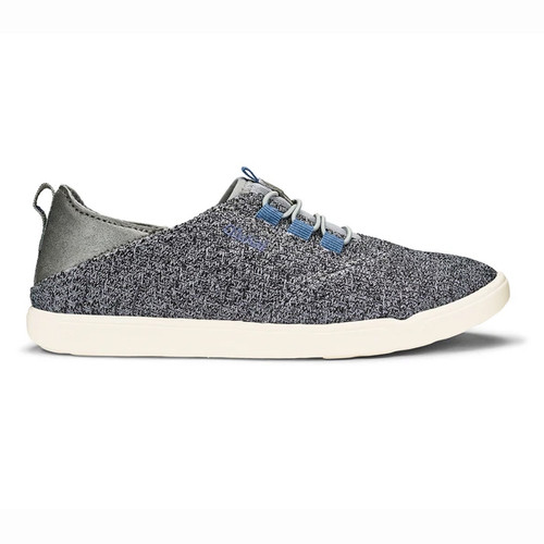 Olukai Boy's Shoes - 'Alapa Li - Charcoal/Charcoal