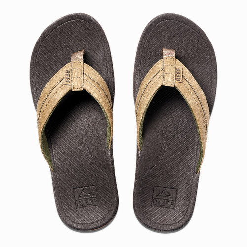 Reef Women's Flip Flop - Ortho-Bounce Coast - Brown