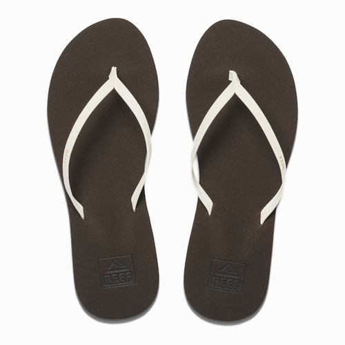 Reef Women's Flip Flop - Bliss Nights - Brown/White