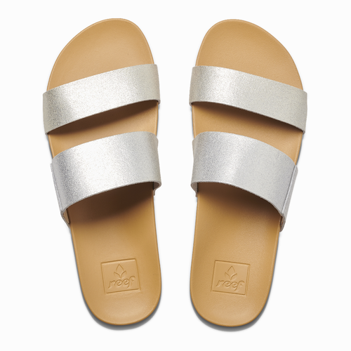 Reef Women's Sandal - Cushion Bounce Vista - Silver