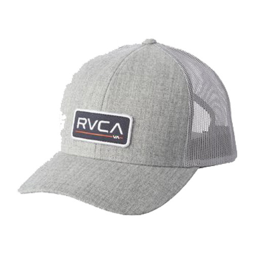 RVCA Hat - Ticket Trucker III - Heather Grey