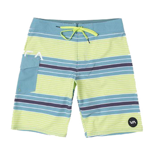 RVCA Boardshort - Uncivil Striped - Dusty Aqua