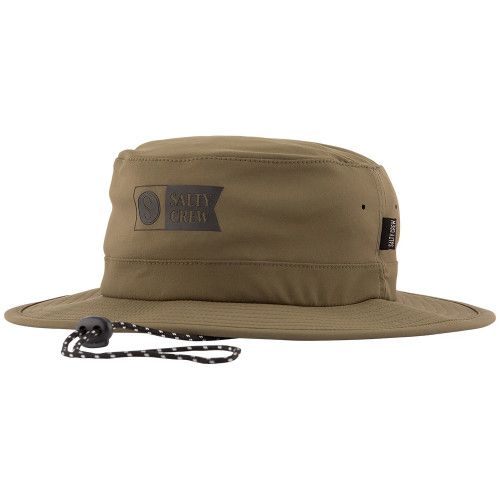 Salty Crew Hat - Indicator Tech Boonie - Olive