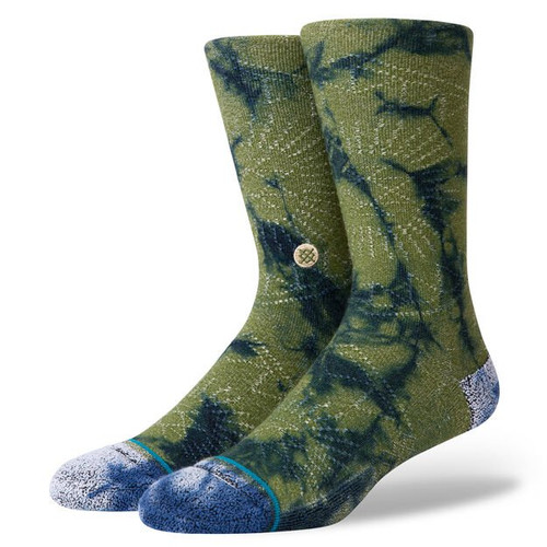 Stance Socks - Monte Carlo - Army Green