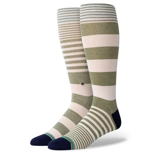 Stance Socks - Power Flower - Army Green