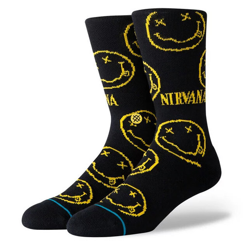 Stance Socks - Nirvana Face - Black