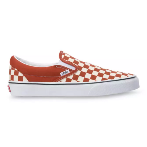 Vans Shoes - Classic Slip-On - (Checkerboard) Picante/True White